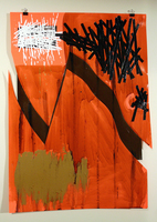 Sean Naftel Location not Specific (or, its neither here nor there): Carline Doherty Mixed media on poster board