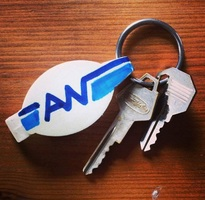 Sean Naftel Attenborough Naftel Keys, bottle opener, marker