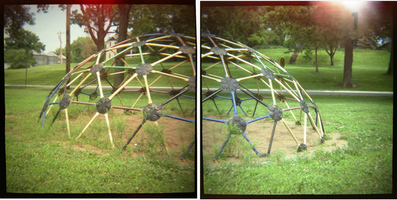 Playground (dome diptych)