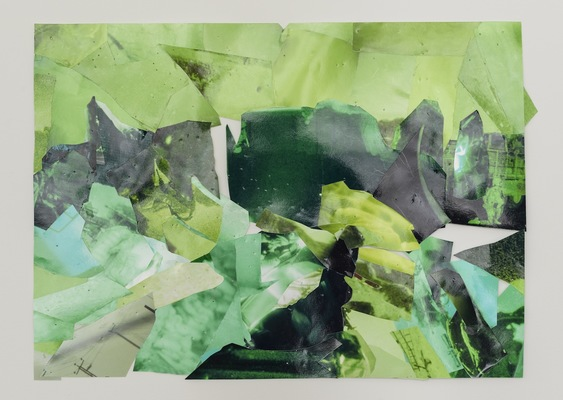 Selena Kimball Night Vision collaged inkjet prints on glossy paper