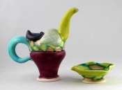 Shana Salaff Cruets and Cruet Sets (2009-2010) Porcelain