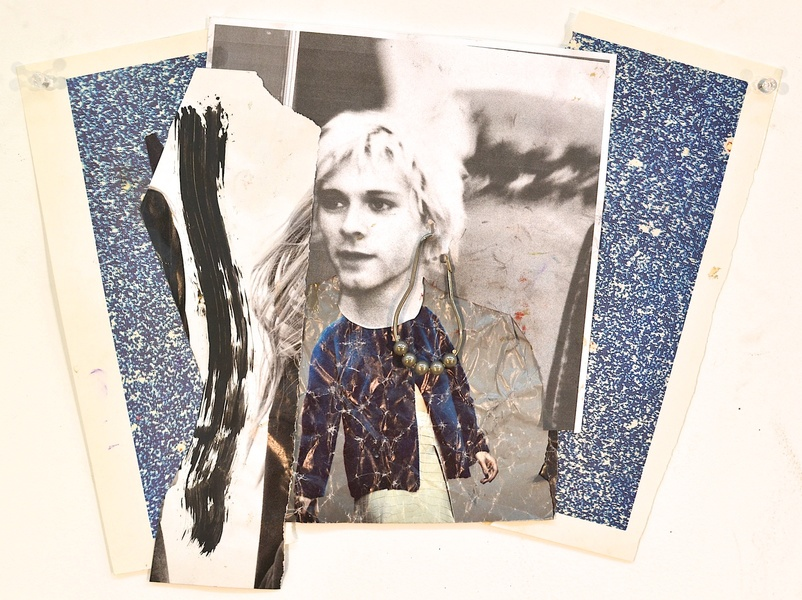Shanna Waddell Kurt Cobain collage