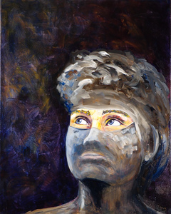 Sharon Hogg 2013 Facing Forward Oil on Canvas