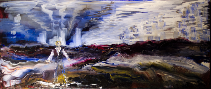 Sharon Hogg 2014 Landscape for a Good Woman Oil on Canvas