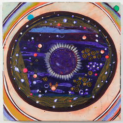 SHARON HORVATH Ohio Eye: Paintings 2016 Pigment, Ink, Polymer on Paper on Canvas