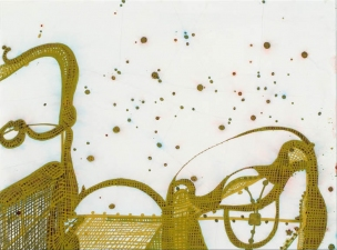 SHARON HORVATH Hicks, Looms and Wicker Ink, Pigment and Polymer on Paper