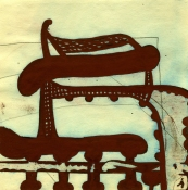 SHARON HORVATH Hicks, Looms and Wicker Ink/Pigment and Polymer on Paper
