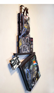 Shawn Turung                            multi media fine art Totems