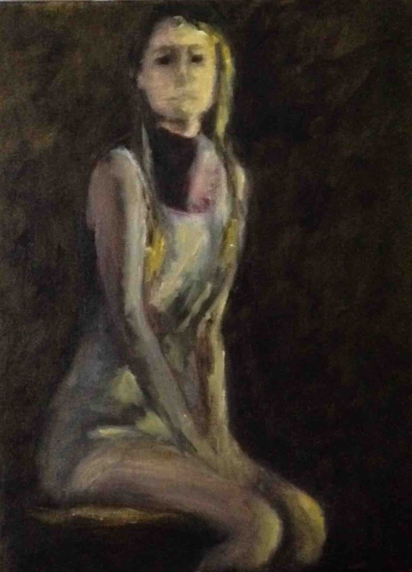 SHERYL MASSARO   fine art & photography OILS - Figure Oil on Panel