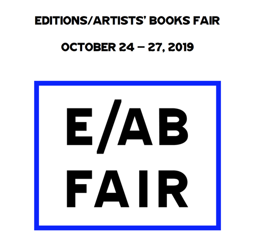 SHORE PUBLISHING Editions/ Artist Books Fair, NYC 2019