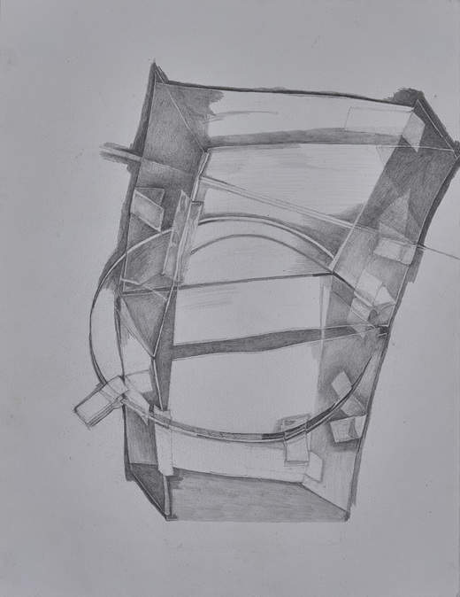 within without 2009-present pencil on paper
