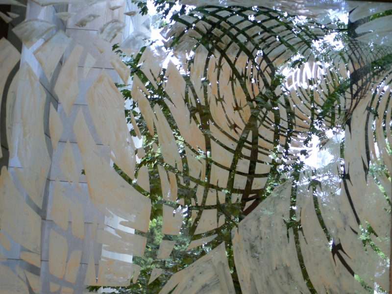 Tangles, Portals and Fences 2004-2007 portal 10 detail