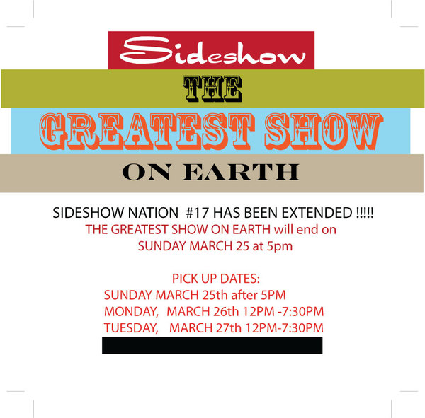 Sideshow GREATEST SHOW ON EARTH 2018
