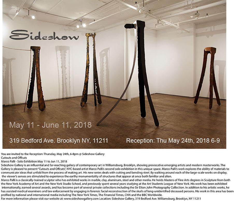Sideshow : Past Exhibits 2014-2018 : Marco Palli