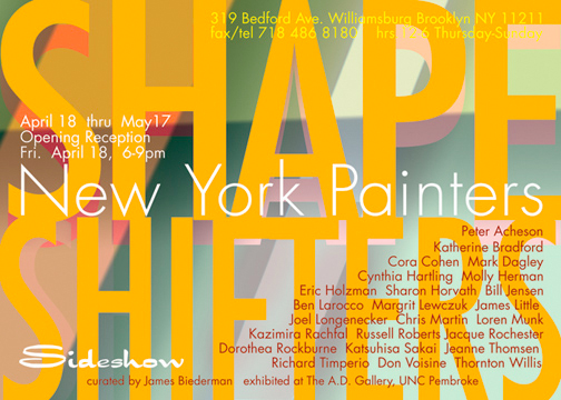 New York Painters: Shape Shifters
