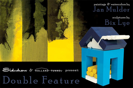 Double Feature: Jan Mulder: paintings, watercolors & Bix Lye: sculpture