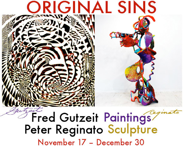 Sideshow Original Sins: Fred Gutzeit Paintings, Peter Reginato Sculpture