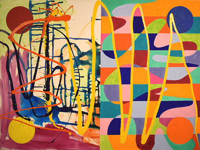 Sideshow DANA GORDON NEW PAINTINGS 2015-17  acrylic and oil on canvas