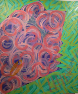 Sideshow Joan Thorne oil on canvas