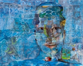 STACIE SPEER SCOTT People mixed on canvas
