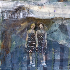 STACIE SPEER SCOTT People Archives mixed on canvas