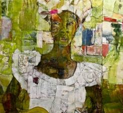 STACIE SPEER SCOTT People mixed media /canvas