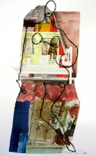 STACIE SPEER SCOTT Currently available Mixed media on  Paper with string