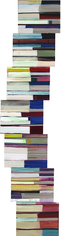 Stanford Kay Available Gutenberg Variations Acrylic on canvases