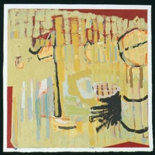Stephanie Hightower Absence and Presence - Works on Paper oil on paper