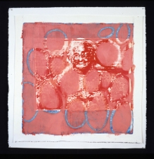 Stephanie Hightower M.P.H. Series - Oil, Laser Print and Silkscreen on Paper oil and silkscreen on paper