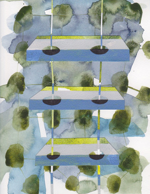 STEPHANIE SNIDER Drawings watercolor, acrylic and pencil on paper