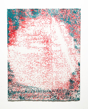 Stephen Maine       Halftone paintings (2012-13) Acrylic on paper
