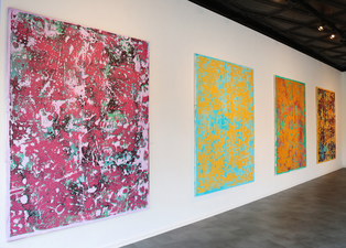 Stephen Maine       Residue paintings (2014-19)