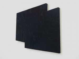 STEUART PITTMAN Painting Oil on shaped panel