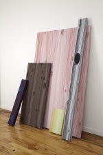 Steve DeFrank Past Work: Wood Grain Casein on panels
