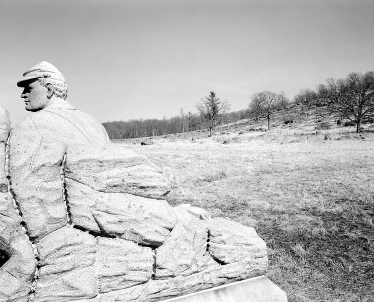 U.S. Civil War Sites I At the Base of Little Round Top, Gettysburg