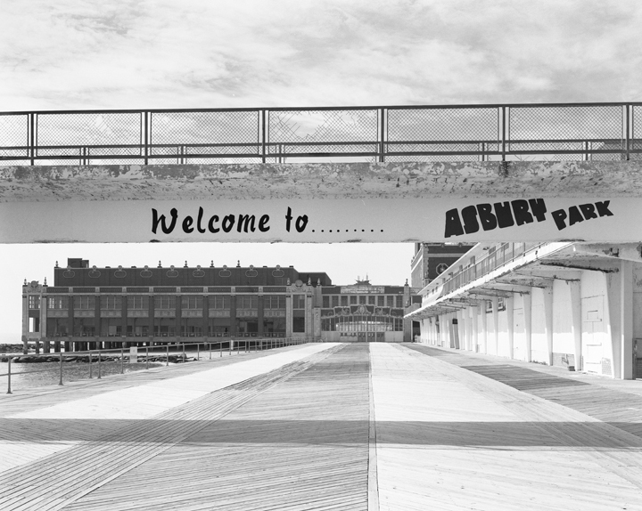 Welcome to Asbury Park Boardwalk Looking South Toward the Convention Center