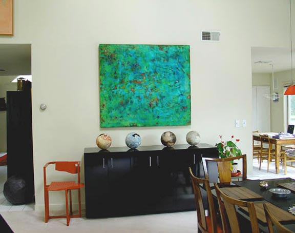 large paintings Room View