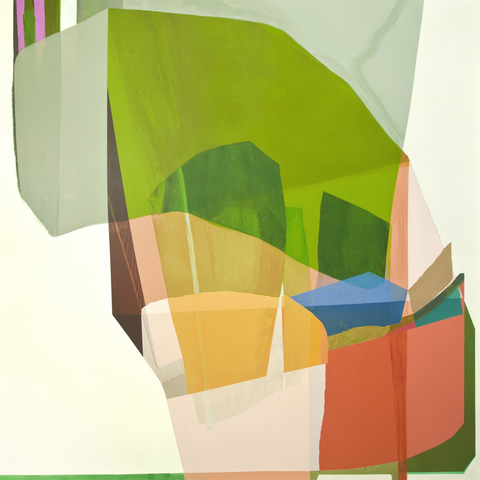 Susan Cantrick 2013 acrylic on polyester
