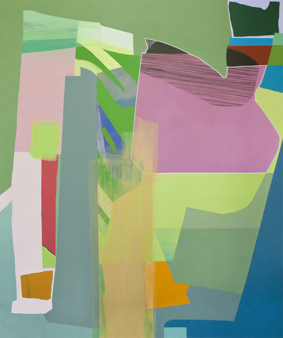 Susan Cantrick Recent work acrylic on linen