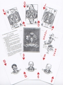 Susan Hamburger - Visual Artist The Presidential Line of Succession Playing Cards Playing cards