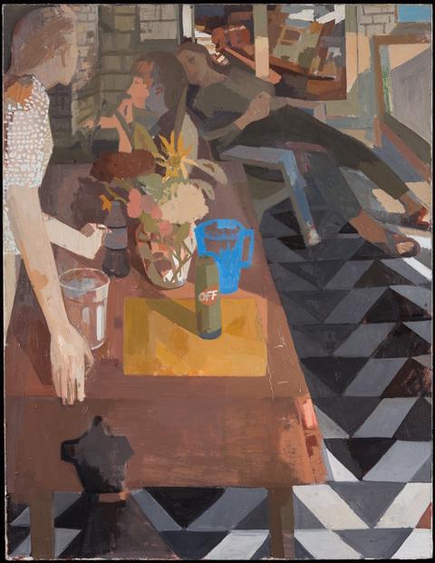 Susan Lichtman  Oil on canvas