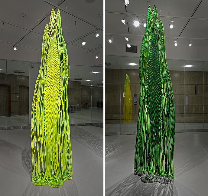 Susanna Starr : Layered Color Cutouts : Installation