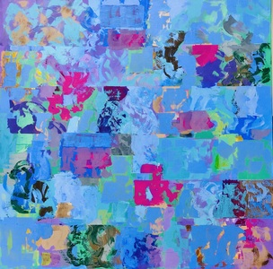 Susan Paulson Clark - Art Paintings Acrylic on Canvas