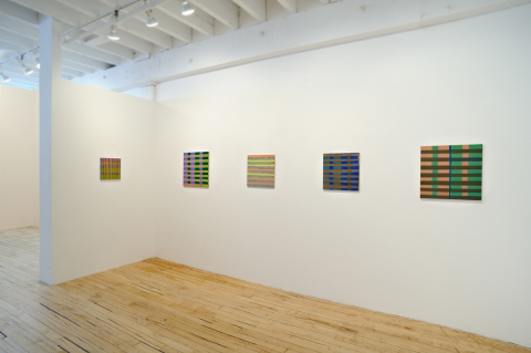 "SUSAN POST ""Color Balance"" @ The Painting Center NYC February 2012"