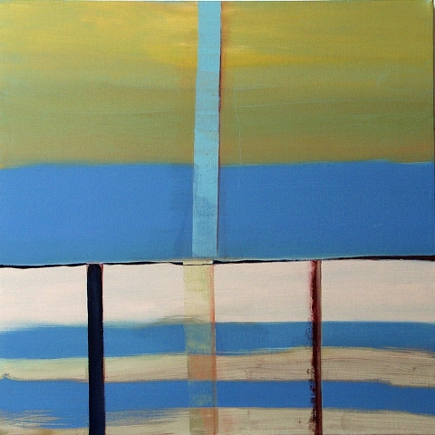 SUSAN POST more overt landscapes oil on canvas