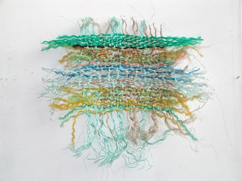 SUSAN POST Woven Line nylon rope scavenged form beach