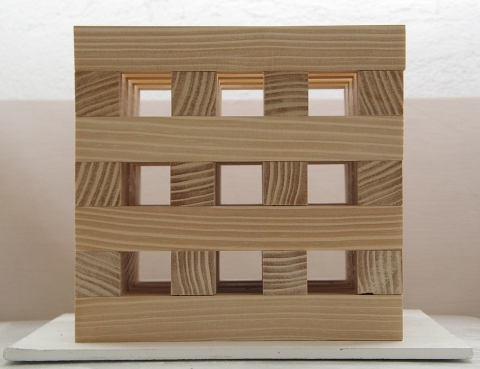 SUSAN POST 3-D/reliefs wood