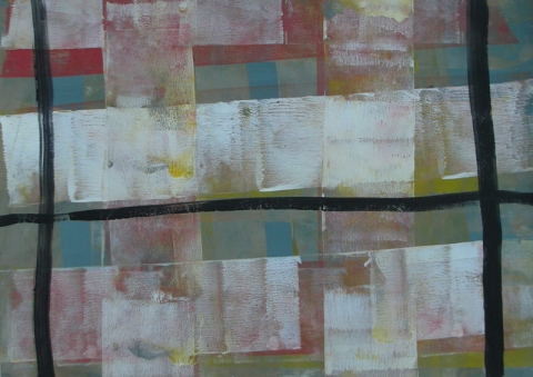 SUSAN POST misc. paper gouaches on paper