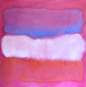 Susan Wolfe Huppman Color Field OIl on canvas